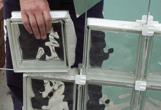 Укладка стеклоблоков своими руками