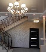 Гостиная - стены декоративная покраска с крошкой