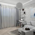 Лофт в современном интерьере квартиры