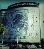 Дом-банкнота в городе Каунас