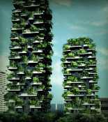 Здания Bosco Verticale или «вертикальный лес»