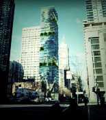 Высотное деревянное здание в Мельбурне
