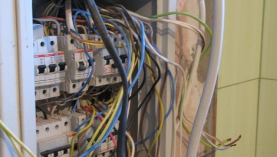Подготовка к замене электрического щита