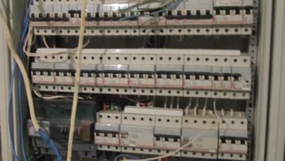 Сборка главного электрического щита