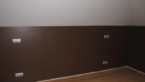 Комнаты на мансардном этаже стены под покраску