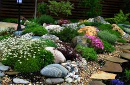 О рокарии, каменистом саде и способы обустроить красиво сад