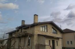Отделка фасадов коттеджей и домов