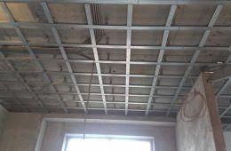 Подвесной потолок по технологии Кнауф