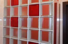 создания стен из стеклоблоков
