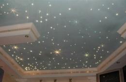 Световые эффекты и натяжные потолки