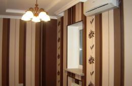 Классический потолок из кипсокартона