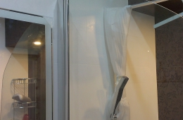 Шторка для ванной из стекла