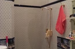 Ремонт ванной в классическом стиле