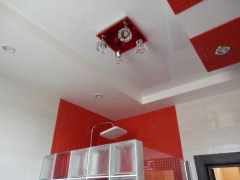 Добавим общий свет на потолок