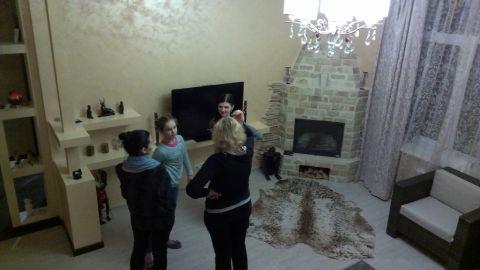 А вот и одни из первых гостей, которые заждолись фотографа, пора по домам