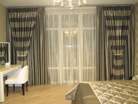 Пошив штор в классическом стиле