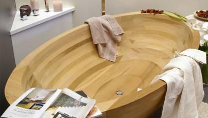 деревянные ванны - прекрасный образец экодизайна