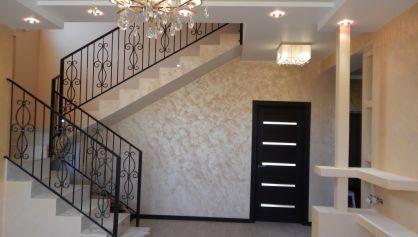 Декоративные элементы в доме из пеноблока
