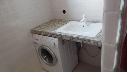 Самодельная столешница под стиральную машину, когда нет других вариантов