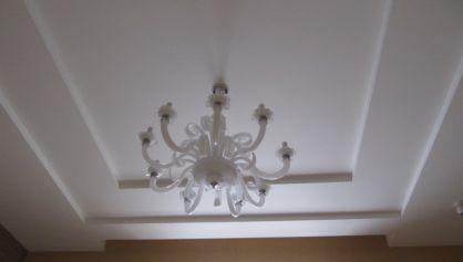 Вид потолка в классическом стиле