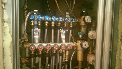водоснабжение трубами Рехау