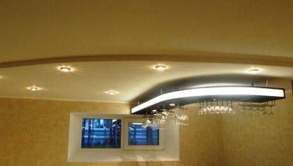 Отделка цокольного этажа под бар