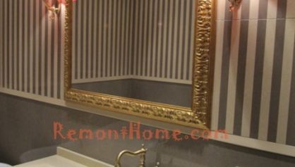 Зеркало с багетом в классическом стиле