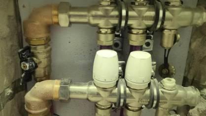 Отопление трубами рехау